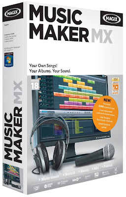 MAGIX+Music+Maker+MX+v18.0+Multilenguaje MAGIX Music Maker MX v18.0 Multilenguaje