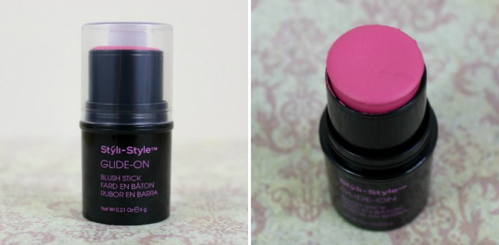 Styli-Style Glide-On Blush Stick in Pretty-in-Pink