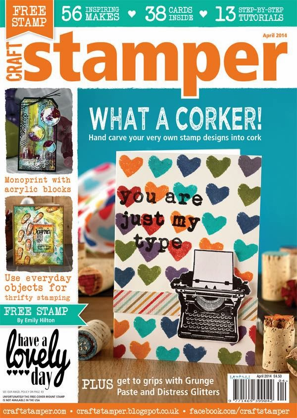 Published in Craft Stamper April 2014