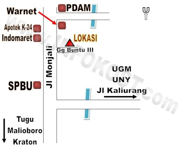 kontrakan Monjali Yogyakarta