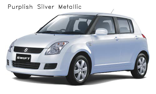 swift purplis silver metallic