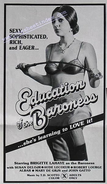 EDUCAT%C4%B0ON+OF+BRAONESS Education of the Baroness AKA Parties fines (1977) Gérard Kikoïne