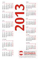 Targeta calendari darrera presentació Mònica Blasi fisiopterapeuta