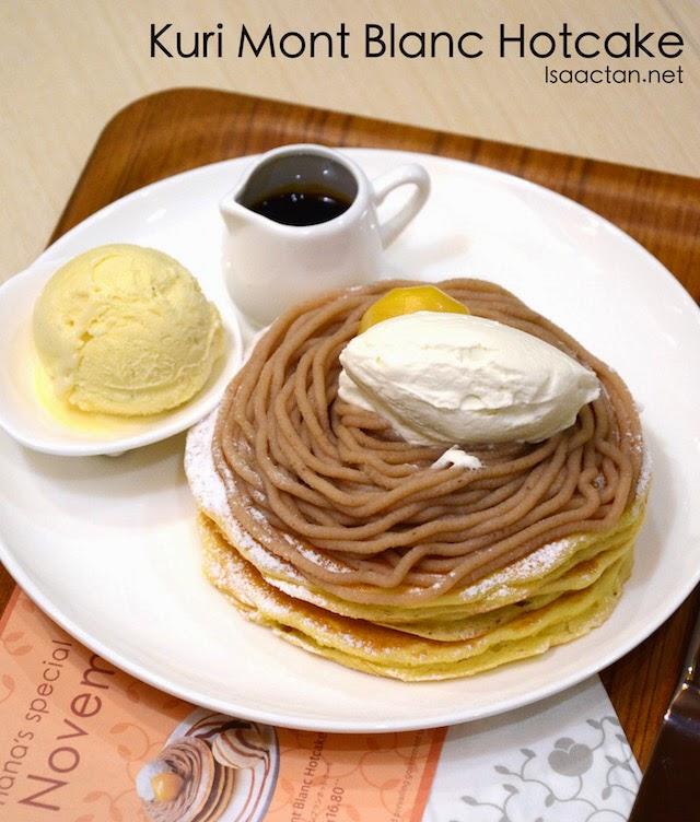 Kuri Mont Blanc Hotcake - RM16.80