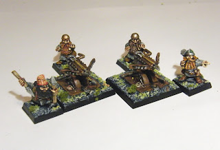 Dwarven Bolt Throwers