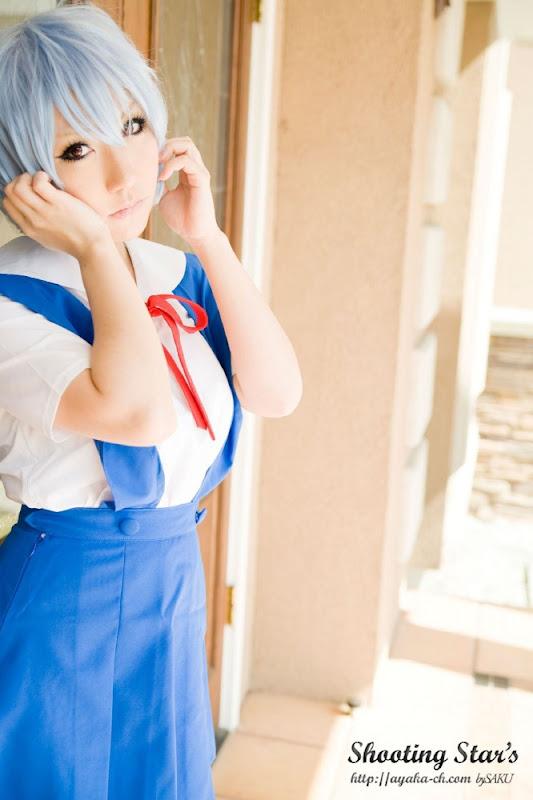 CosRain.Com Sakuya's COSPLAY - Rei Ayanami
