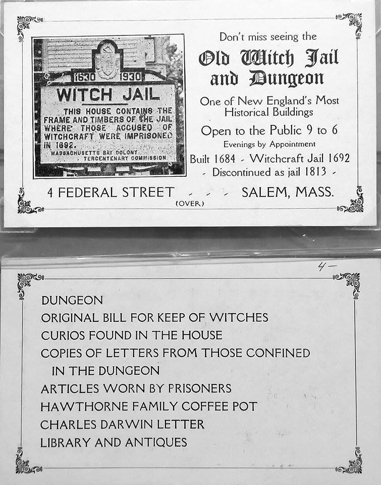 History by the Sea | Salem, Massachusetts: Old Witch Jail and ...