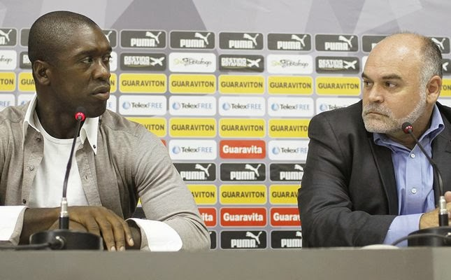 Seedorf é o novo técnico do Milan