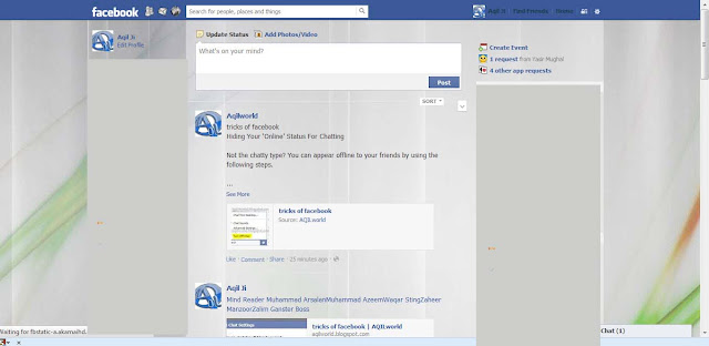 Install with Stylish facebook