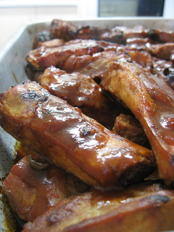 Morsels and Musings: sweet & smoky barbecued pork ribs