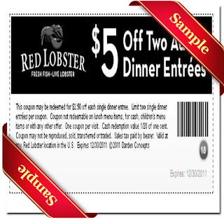 red lobster printable coupons 2012