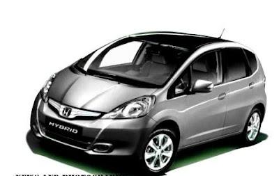 2012 Honda Jazz Hybrid Silver Front