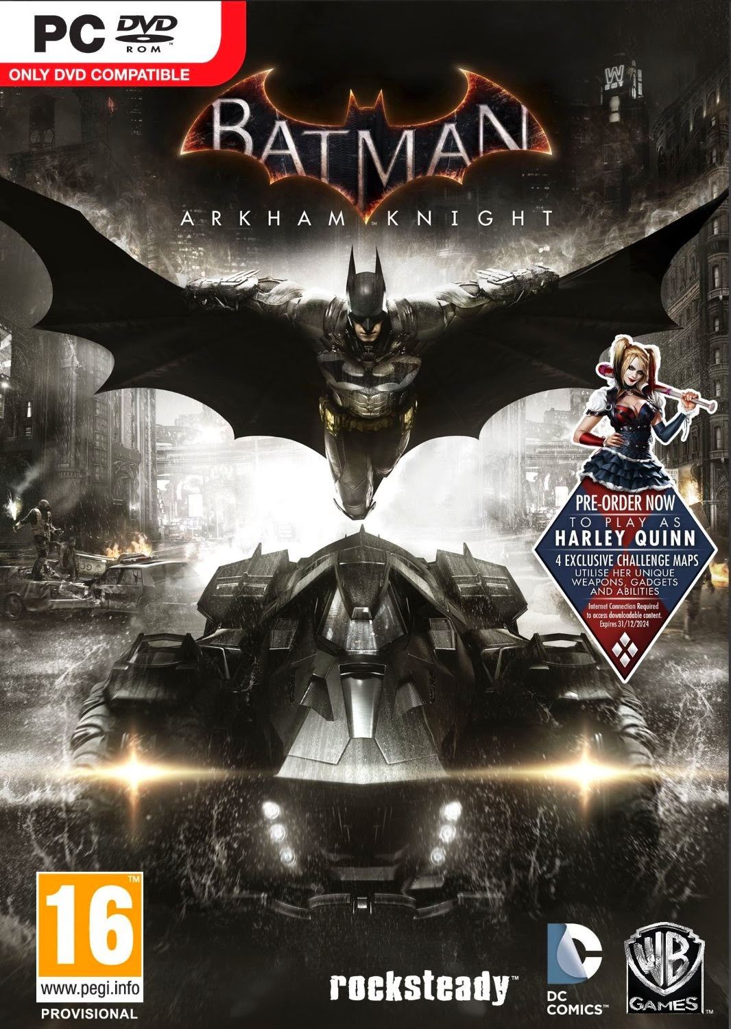 Buy Batman Arkham Knight (PC) Rs. 1,499 only at Amazon.
