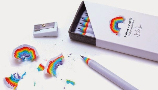 Innovative recycled rainbow pencil for your kids, best pencil for kids birthday gift