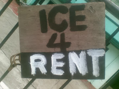 Ice for rent