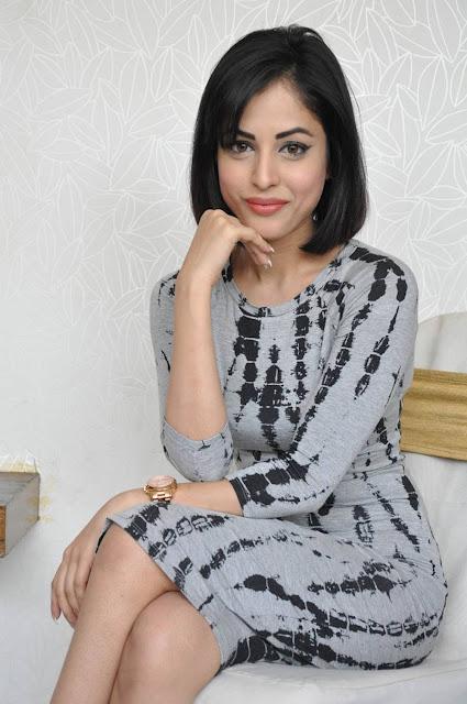Priya Banerjee Stills At Asura Movie Promotions
