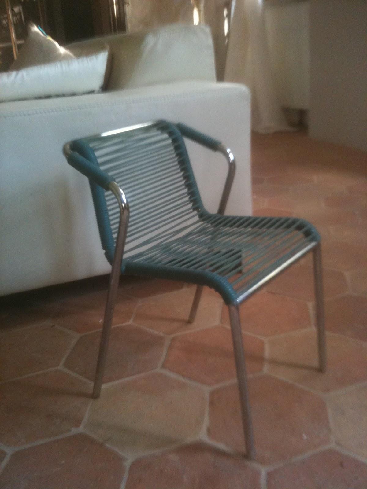 Mobilier scoubidou enfant - Chaise scoubidou vintage ...
