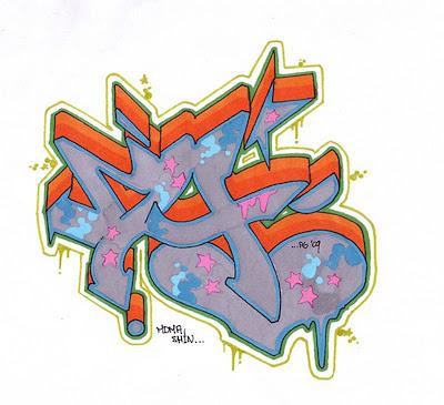 Graffiti Letters,Graffiti LettersA