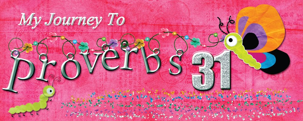 My Journey to Proverbs 31