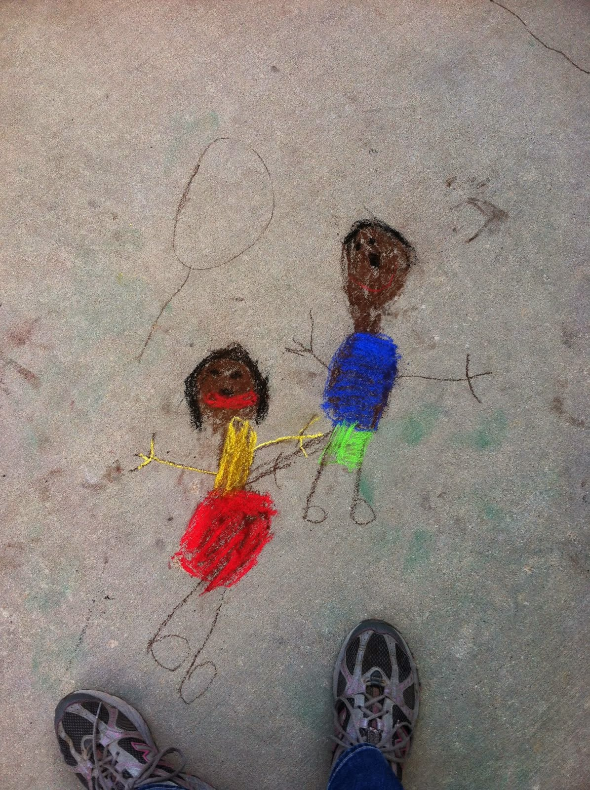 our Ugandan chalk kids