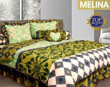 Jual Sprei Bed Cover My Love Melina