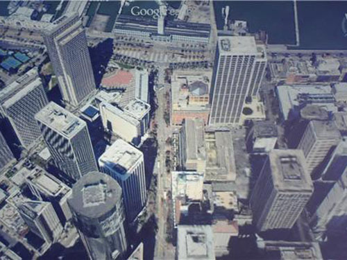 Google Announces Offline Maps D Flyover Views And Street View - Google earth online map 3d