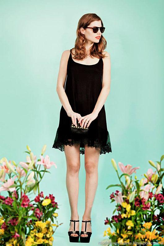Vestidos primavera verano 2014 Paris by Flor Monis