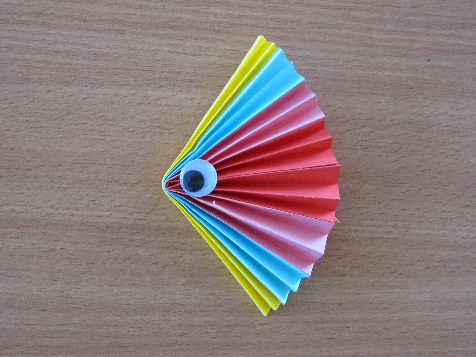 Как сделать солнышко из бумаги гармошкой