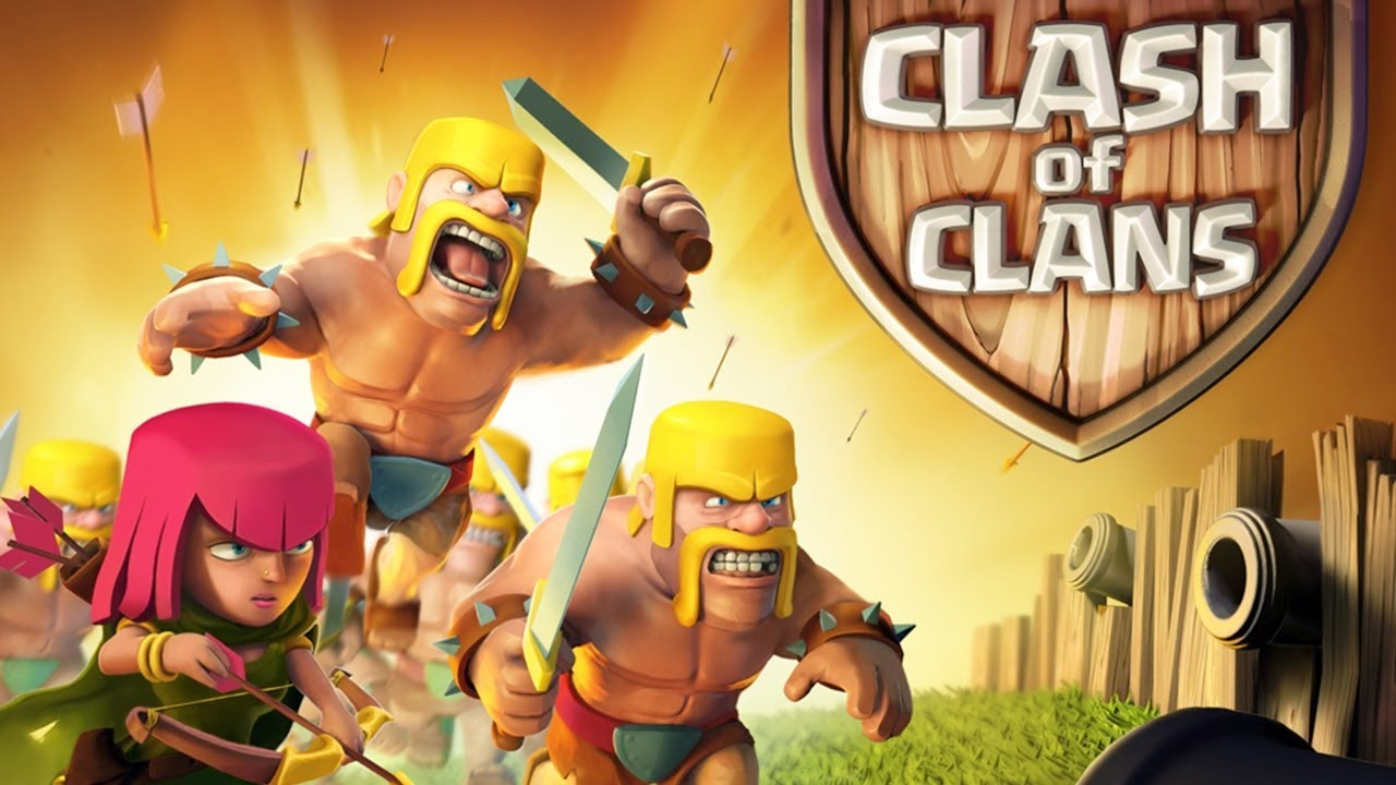 Top Strategy Game 2015 – Clash of Clans HD Wallpaper