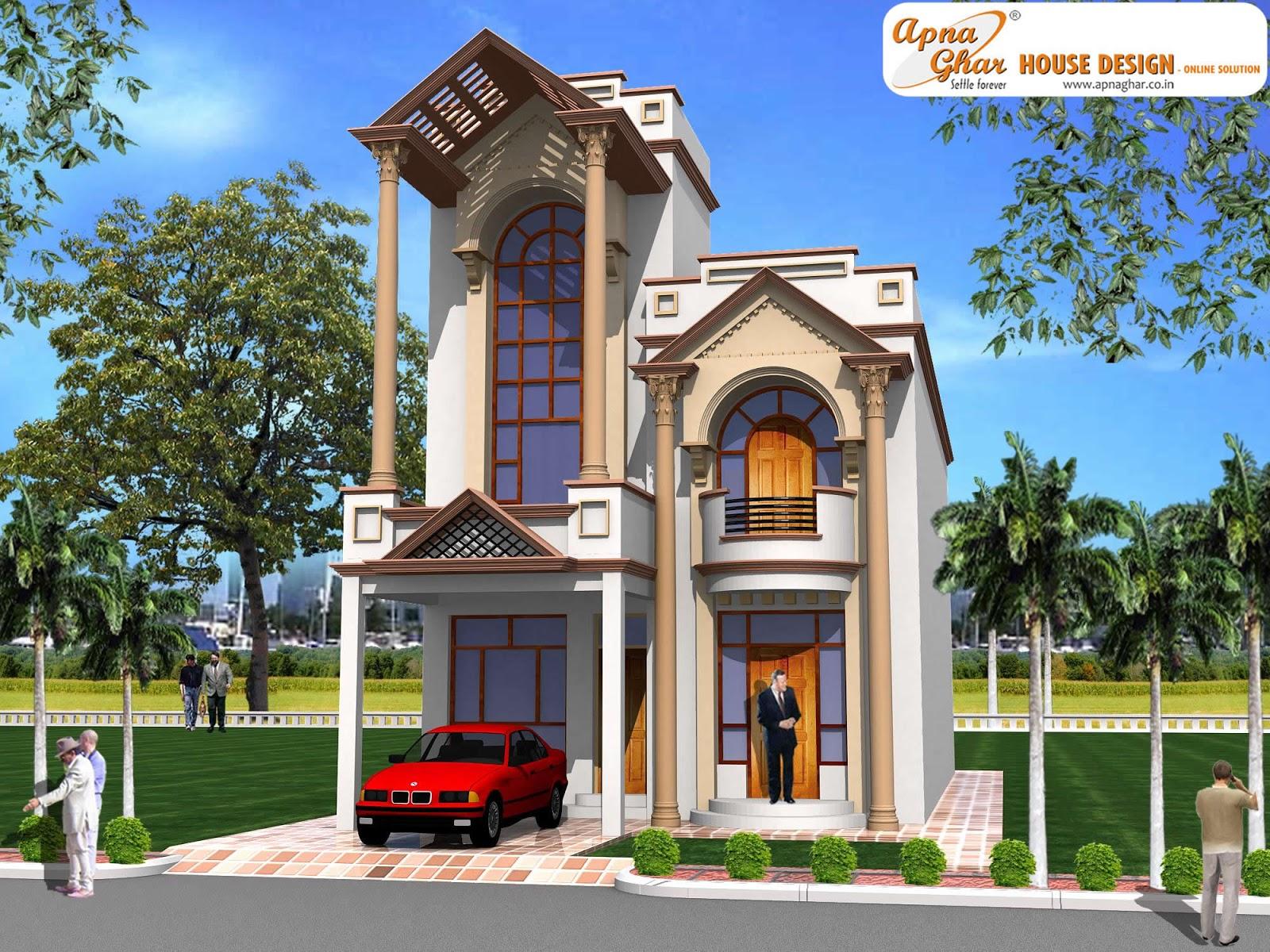 Bedrooms Duplex House Design in 216m2 (12m X 18m)