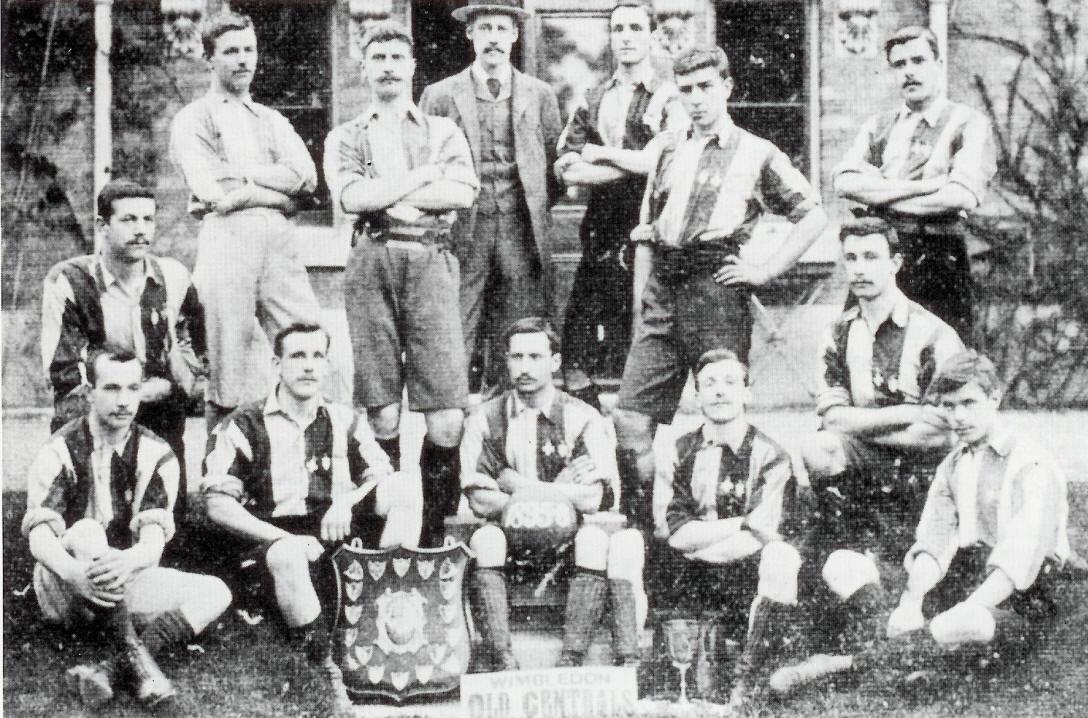 Equipo del Wimbledon Old Centrals F.C. de la temporada 1895-96