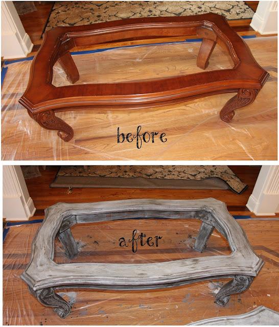Antiquing Furniture No Sanding