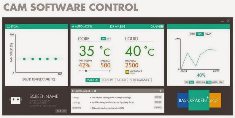 NZXT Announces a Significant Update to its CAM Software Utility
