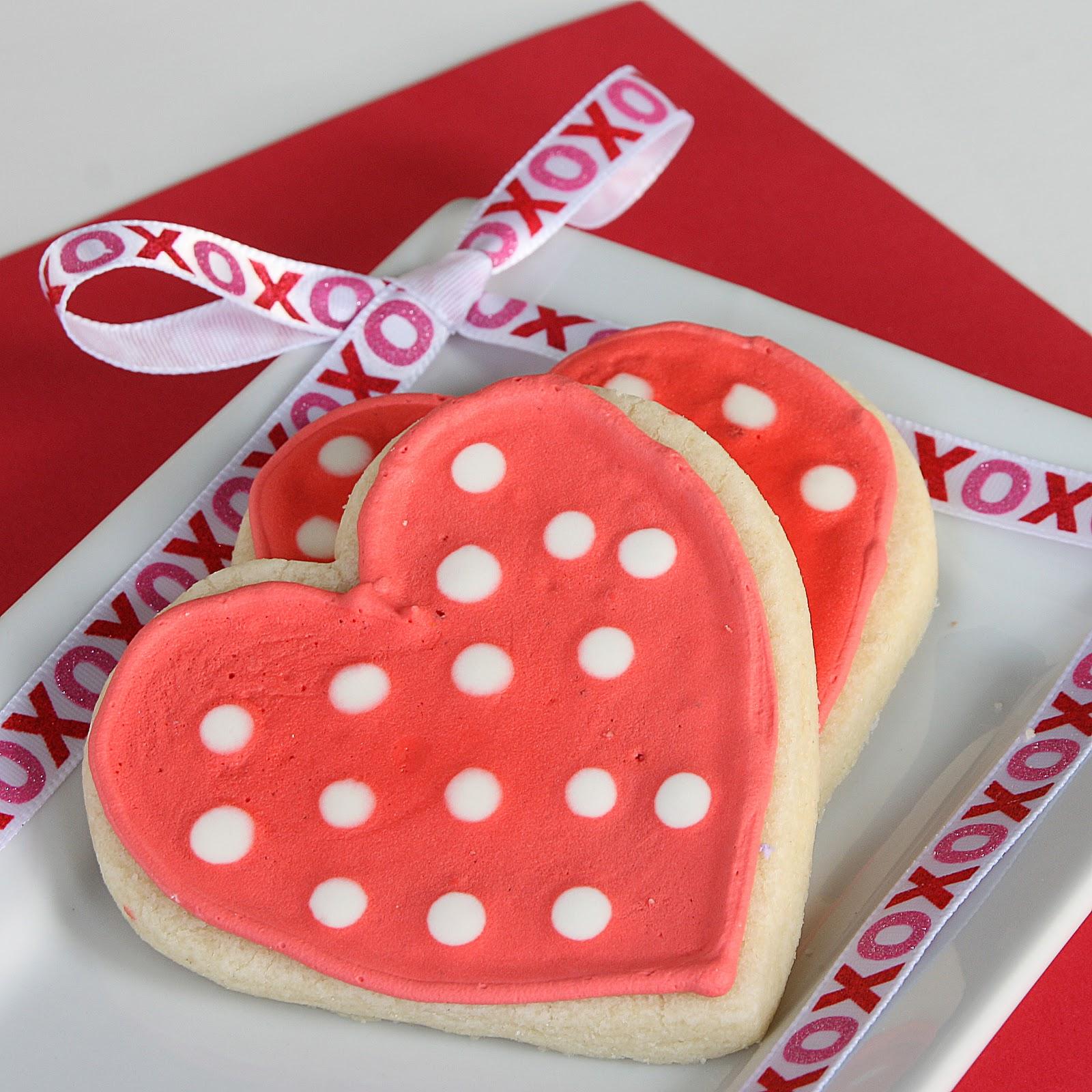 Печенье на день святого валентина своими руками