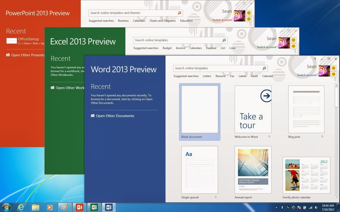 Microsoft Office Professional Plus 2013 Preview