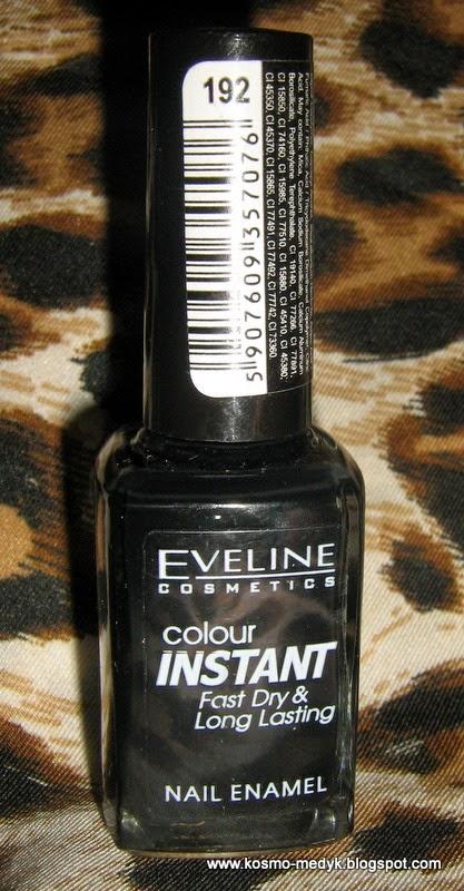 Lakier Eveline Colour Instant - czarny jak smoła?