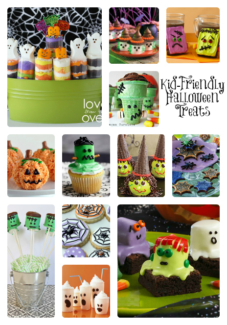 25 Kid-Friendly Halloween Treats #Recipes