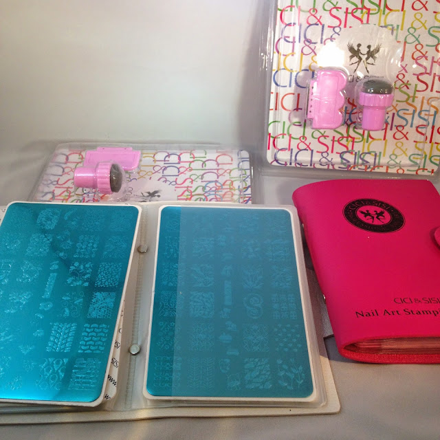 Cici & Sisi Nail Stamping Plate Sets 1 and 2