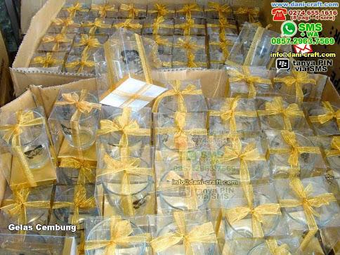 Gelas Cembung Gelas Kaca Belitung