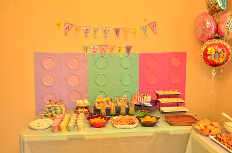 Happy Life....: Lego Friends Birthday Party for Our 5 Year Old