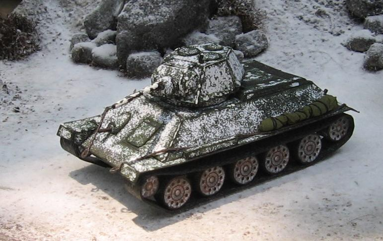 Dice Devils GC: Soviet Army: T-34 Winterizing.