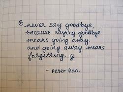 Cada vez que trato de irme algo me dice que regrese.