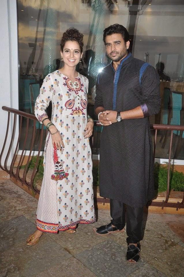 Kangna Ranaut and R Madhavan promote 'Tanu Weds Manu Returns'