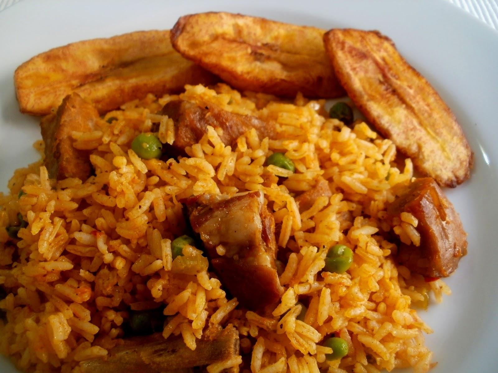 Los antojos de clara arroz con costillas de cerdo - Arroz con verduras y costillas ...