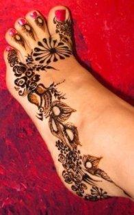 Girls Tattoo Design Easy Mehndi Designs For Feet
