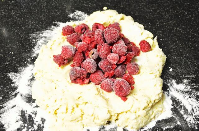 Recipe ReDux: Raspberry Oat Scones   The Inventive Vegetarian