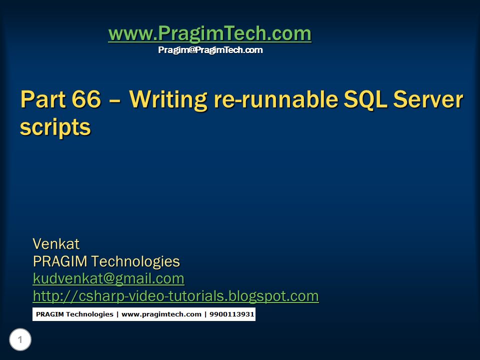 Web writing services video tutorial in asp.net