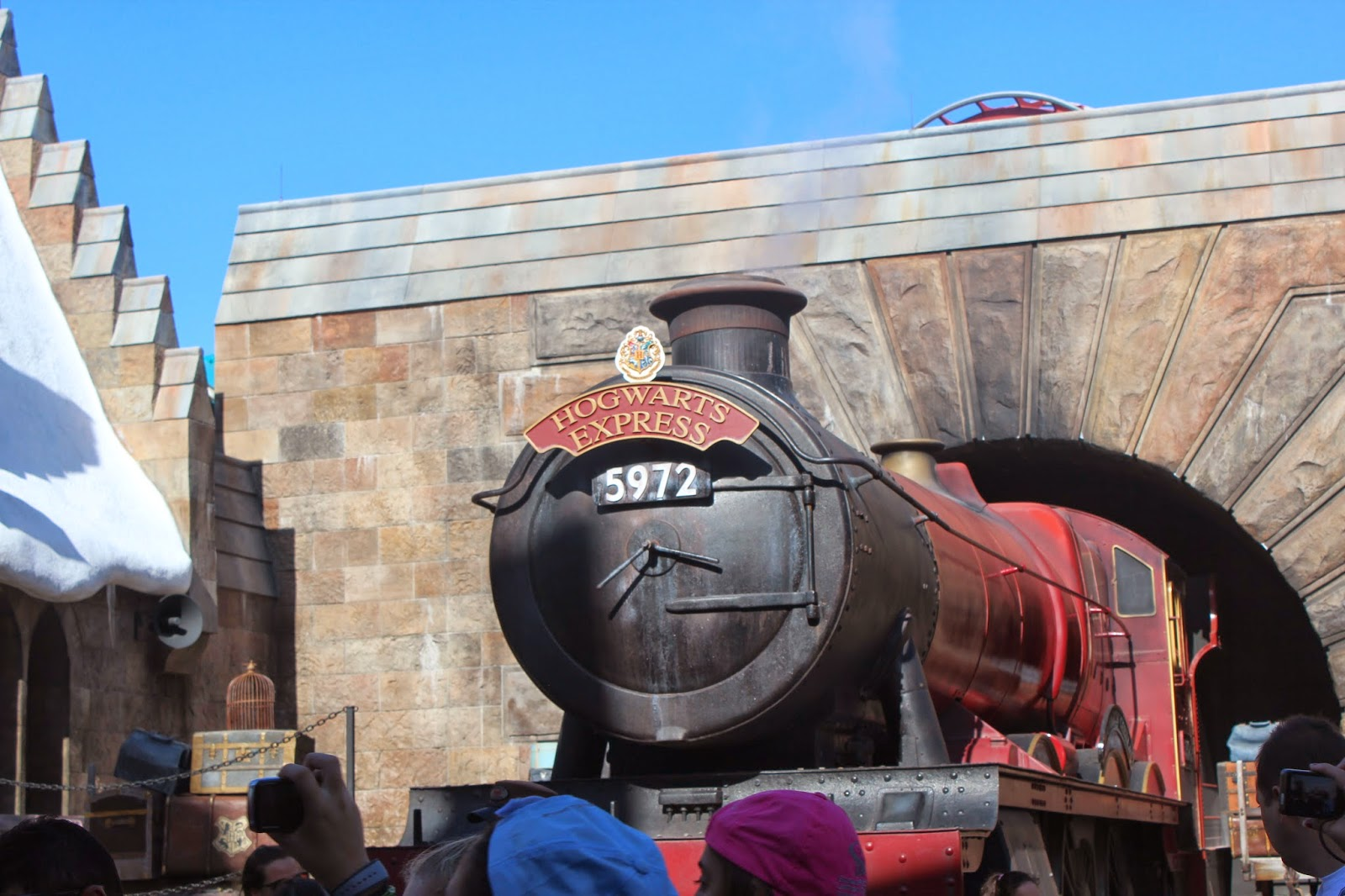 hogwarts express universal studios harry potter