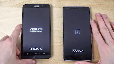 Adu Cepat Booting HP Asus Zenfone 2 vs OnePlus One