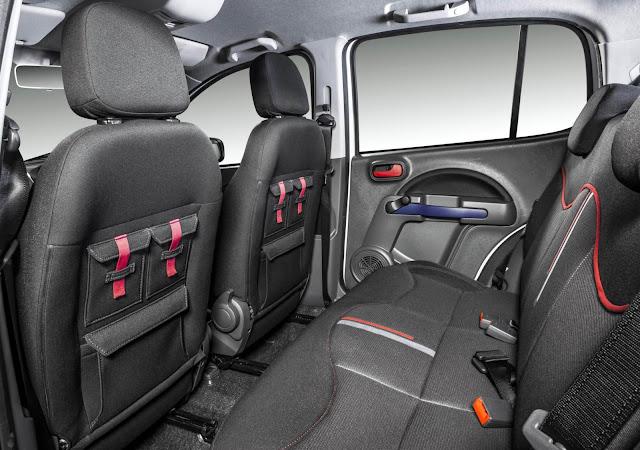 Novo Fiat Uno 2014 - interior